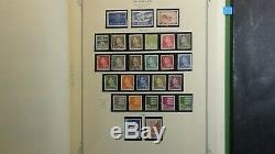 Denmark + stamp collection in Scott Specialty album with est. 1,300 Classics to'92