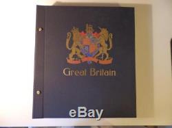 E16 Mint GB Collection in Davo Album