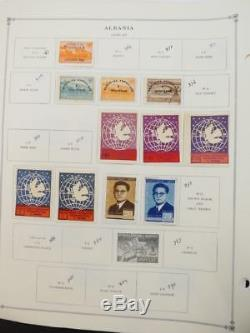 EDW1949SELL ALBANIA Very clean Mint & Used collection on album pages Cat $1367