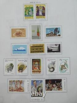 EDW1949SELL AUSTRALIA Interesting Mint & Used collection on album pages