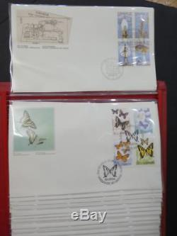 EDW1949SELL CANADA Beautiful FDC collection in 8 White Ace cover album. All VF