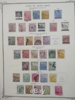EDW1949SELL CAPE OF GOOD HOPE Nice collection on album pages with many Better