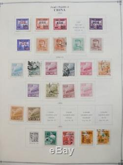 EDW1949SELL CHINA PRC Mint & Used collection on album pages between 1949-1960