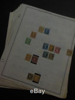 EDW1949SELL FRANCE & OFFICES Mint & Used collection on album pages. High Cat