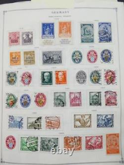 EDW1949SELL GERMANY Very clean Mint & Used collection on album pgs. Cat $9000+