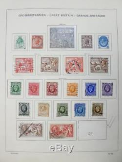 EDW1949SELL GREAT BRITAIN Perfect Mint & Used Starter collection on album pgs