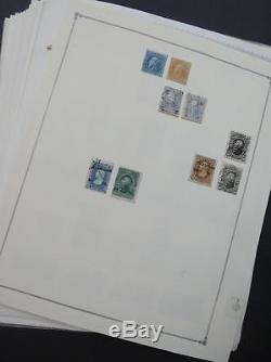 EDW1949SELL MEXICO Extensive Mint & Used collection on album pages Many Better
