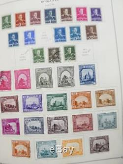 EDW1949SELL ROMANIA Very clean Mint & Used collection on album pages Cat $2648