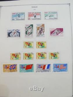 EDW1949SELL TOGO Very clean Mint & Used collection on album pages. Cat $804.00