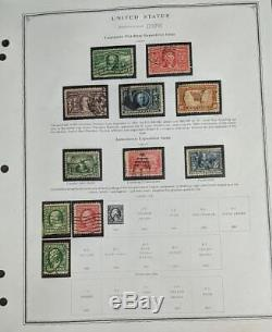 EDW1949SELL USA Mint & Used collection on album pages with many Better incl #630