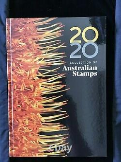 ERROR 2020 Australia Post Stamp Collecting Books Whole Yearly Albums Collection