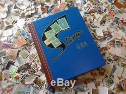 ESTATE COLLECTION OF AUSTRALIAN STAMPS 1kg+ INCLUDING ALBUM. MANY UNFRANKED