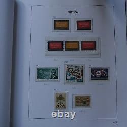 EUROPA COLLECTION DE TIMBRE EUROPA 1949 à 1992 NEUF MNH ALBUM + BOITIER DAVO