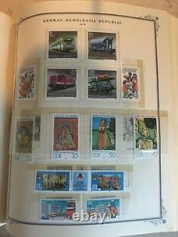 East Germany DDR Stamp Collection 1949-1987 in Scott Specialty Album. Hingeless