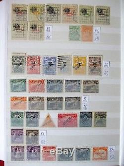 El Salvador Sammlung El Salvador Album Collection 840 different stamps