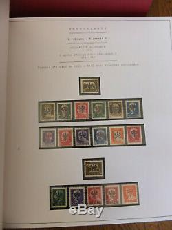 En 2 Albums Importante Collection Timbres 3° Reich Allemagne + Pays D'occupation