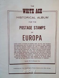 Europa Complete Collection 1956-69 White Ace Album. All Mint/nh From Apfelbaum