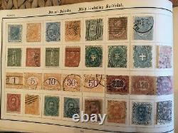 Excellent World Stamp Album, Large Collection Of Valuable Stamps 1840 +