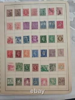 Excellent collection of worldwide stamps in a gimbels dealer album. View photos