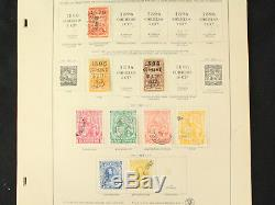 Extensive Early Ecuador Stamp Collection Mint, Overprints, Official+ Album Pages