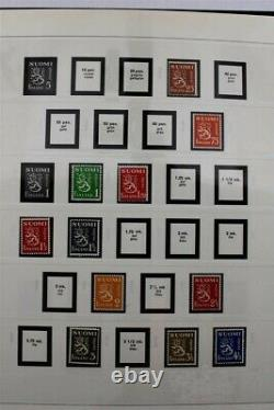 FINLAND 1922-2012 (2015) + Booklets Covers 5x SAFE Albums Stamp Collection