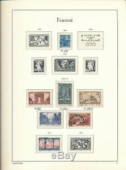 FRANCE 1849/1949 Used Lighthouse Hingeless Album Collection(650+)ALB820