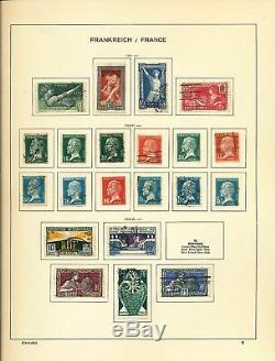 FRANCE 1849/1979 Schaubek Album M&U Collection(Appx600)ALB10105