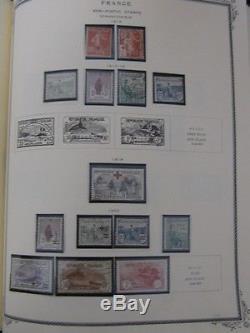 FRANCE COLLECTION 1849-1994, in Scott album, Scott $8,825.00