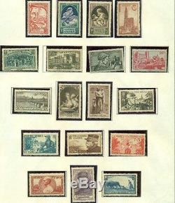 FRANCE COLLECTION 1862 to 1964, Minkus Specialty album, 90%+ Mint Scott $7,700