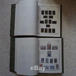 FRANCE COLLECTION DE TIMBRES NEUFS DE 1960 à 1993 EN 2 ALBUMS LUXE YVERT