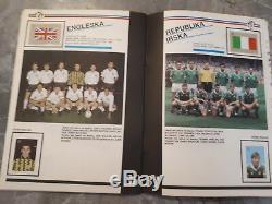 Fifa Wc 1990 Italy 90 Complete Album Stamp Edition Yugoslavia Rare