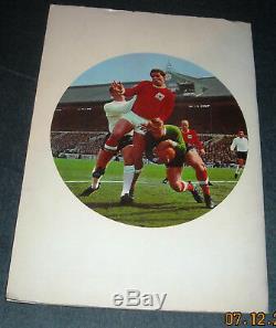 Fks 1968/69 Wonderful World Of Soccer Picture Stamp Album-100% Complete