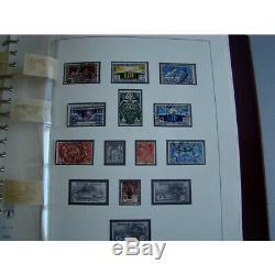 France 1849-1940 collection timbres neufs et oblitérés dans album Lindner, TB