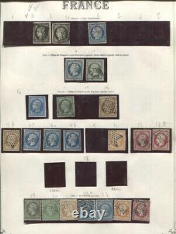 France 1849-1975 Collection In Album Used Cv10000.00