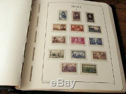 France 1940/1959 Collection complète, Yvert n°451/1229, neufs album luxe