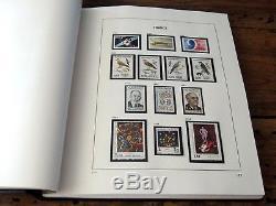 France 1984/1991 collection 8 années complètes neufs sans charnière en album