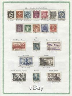 France Collection MNH/Used CV$2240.00 1876-1972 In Yvert Album
