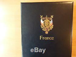 France collection 2001-2004 dans un album Davo. Valeur faciale 351 euros