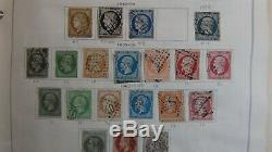 France loaded stamp collection in Scott International album to 1983