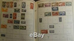 French Colonies stamp collection in Minkus Specialty album to'92 or so