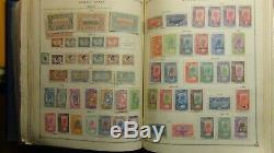 French Colonies stamp collection in Scott Int'l album with est. 5,100 or so
