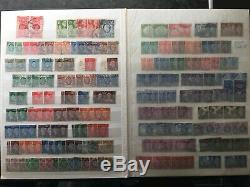 GB 18. 1d penny red plates & GB Stamps Collection Album