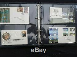 GB 1960's Presentation Pack & FDC Collection in Quality Black Lighthouse Album