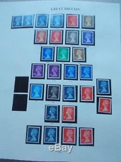 GB Collection U/M in Windsor Album Vol II Machins, Commems, Booklets & Regionals