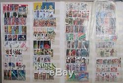 GB Large Collection/Accumulation in 12 Stock Books/Albums. See Details