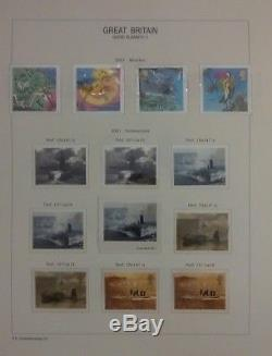 GB MNH Commemorative collection 1971-2016 in 3 davo albums FACE VALUE £1340+