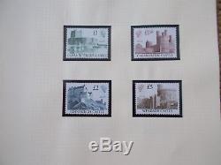 GB QEII U/M Decimal Collection 1971-89 in 2 Albums Includes Machins & Regionals