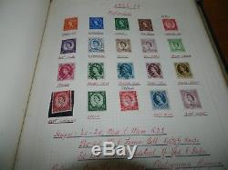 GB Stamps Collection (1870 1967) In Old Album