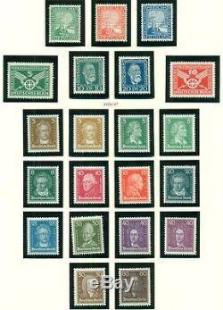 GERMANY COLLECTION 1872 1944 in Lighthouse album, Mint, NH, Scott $21,208.00