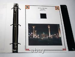 GERMANY Deutsches Reich WWII Europe Occupation Custom Albums 4 Stamp Collection